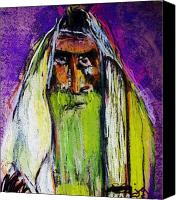 Orthodox Pastels Canvas Prints - Yakov Canvas Print by Joyce Goldin