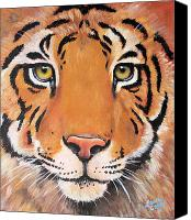 Noah Canvas Prints - Year of the Tiger Canvas Print by Laura Carey