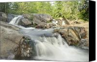 Michigan Waterfalls Canvas Prints - Yellow Dog Falls 4234 Canvas Print by Michael Peychich
