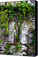 Ruin Canvas Prints - Yesterday No More Canvas Print by Bill Cannon