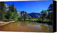  Yosemite Canvas Prints - Yosemite Canvas Print by Everet Regal