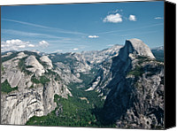 Sierra Canvas Prints - Yosemite Valley Canvas Print by Photo by Lars Oppermann