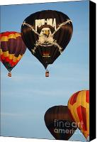 Hot Air Balloon Canvas Prints - You Are Not Forgotten Balloon Canvas Print by Carol Groenen