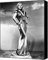 Gold Lame Canvas Prints - You Came Along, Lizabeth Scott, 1945 Canvas Print by Everett