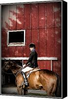 Metamora Canvas Prints - Young and Beautiful Canvas Print by Howard  Hackney