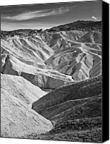 Death Valley National Park Canvas Prints - Zabriskie Point Canvas Print by Jauder Ho / jauderho.com