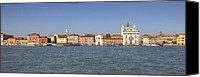 Dominican Canvas Prints - Zattere - Venice Canvas Print by Joana Kruse