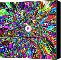 Drips Canvas Prints - Zen Canvas Print by Christian Allen
