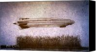 Wheat Canvas Prints - Zeppelin  Canvas Print by Bob Orsillo