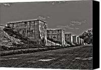 Bayern Canvas Prints - Zeppelin Field - Nuremberg Canvas Print by Juergen Weiss