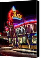 Photographers Atlanta Canvas Prints - Zestos Canvas Print by Corky Willis Atlanta Photography