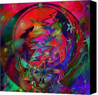 Steal Canvas Prints - Ziggy  Canvas Print by Kevin Caudill