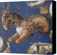 Fresco Canvas Prints - Zodiac: Capricornus, 1575 Canvas Print by Granger