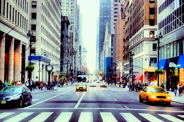 Lanjee Chee -  Fifth Avenue in Manhattan