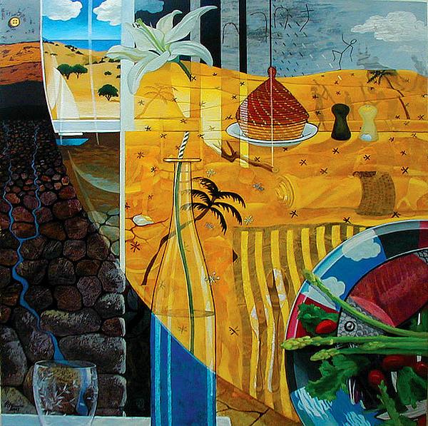 Kaleidoscope Print by Yisehak Fikre-Sellassie