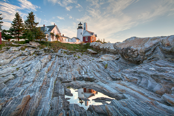 Pemaquid Point Reflection Print by Susan Cole Kelly