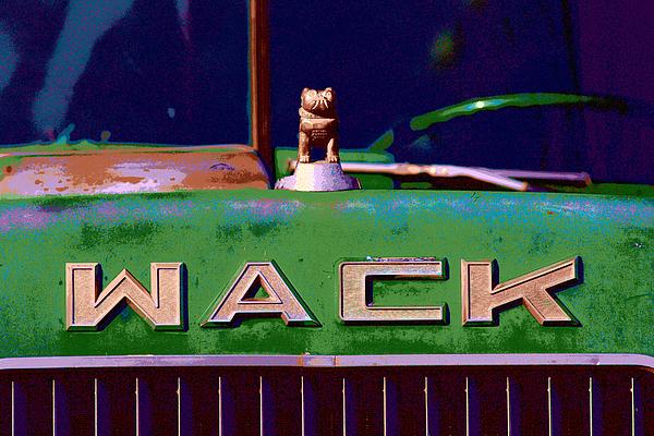 Wack Truck Print by William Jobes