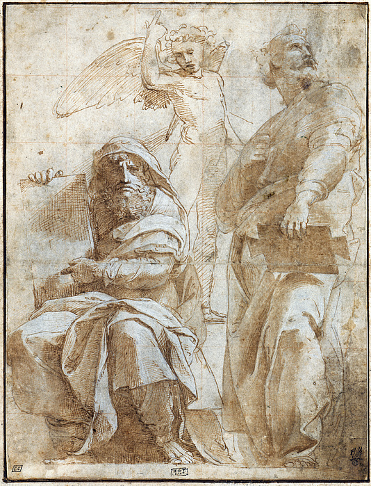 Raphael: Study, C1510 Print by Granger