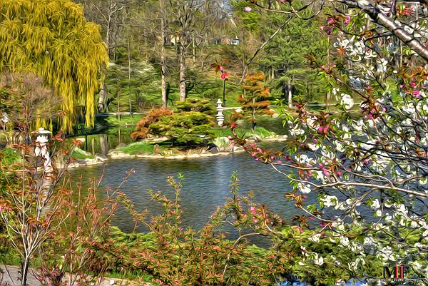 Japanese Garden Cherry Blossom Paintings exellent japanese garden cherry blossom paintings and more on