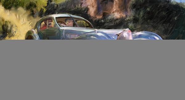 RG McMahon - A Sunday Drive in Tuscany