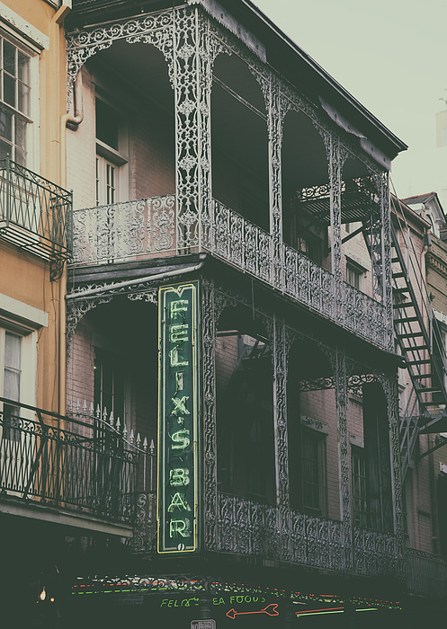 Architecture Of The French Quarter New Orleans By Mountain Dreams