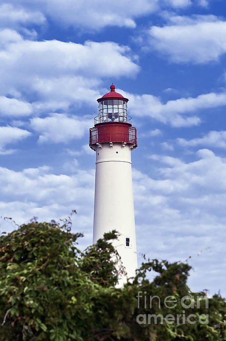 Cape May Lighthouse Print by John Greim