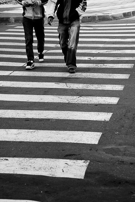 Crossing Print by Gabriela Insuratelu