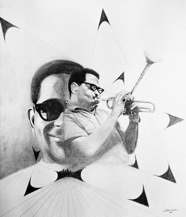 Dizzy Gillespie (1917-1993) Print by Granger