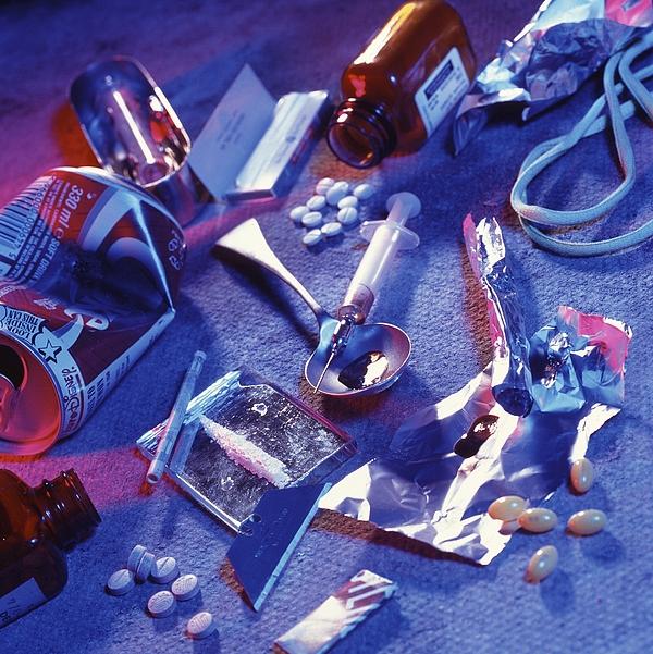 Drug Abuse Print by Tek Image