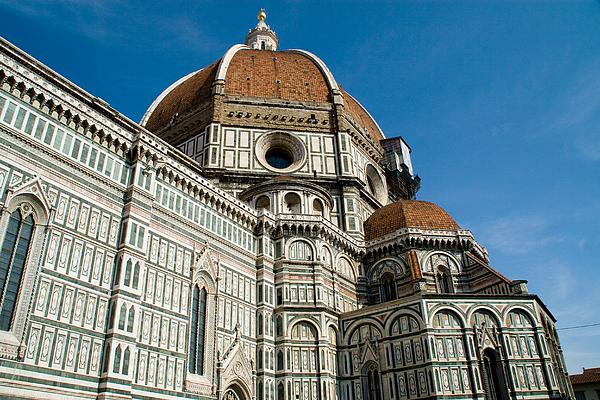 Duomo -  Florence Italy Print by Carl Jackson