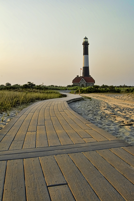 Fire Island Lighthouse Print by Alexander Mendoza
