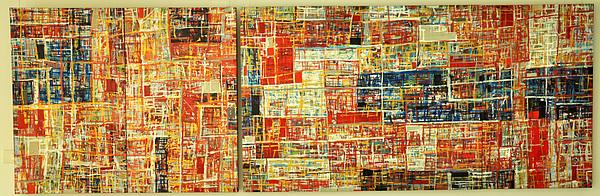 Landscape Print by Budis