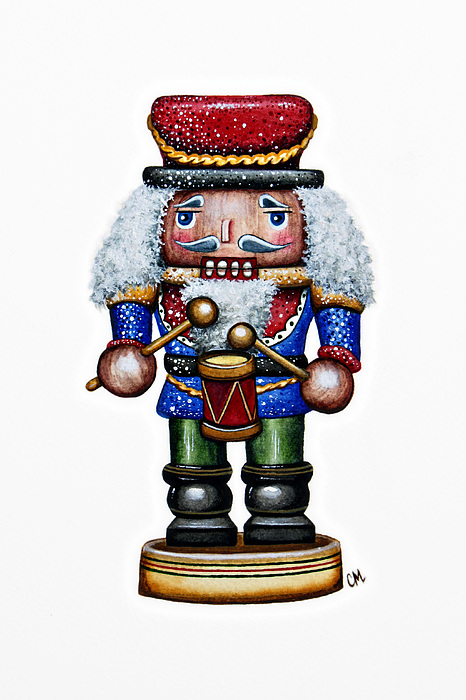 Little Drummer Boy Print by Christina Meeusen
