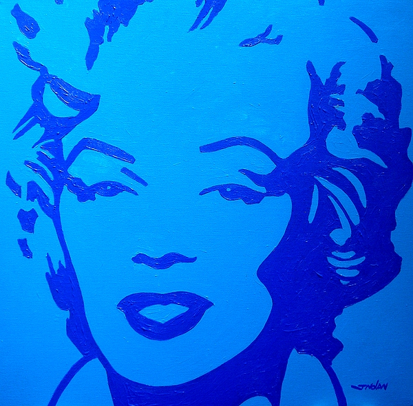 Marilyn Print by John  Nolan