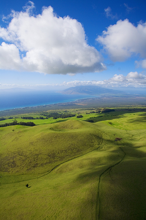 Maui Aerial Print by Ron Dahlquist - Printscapes