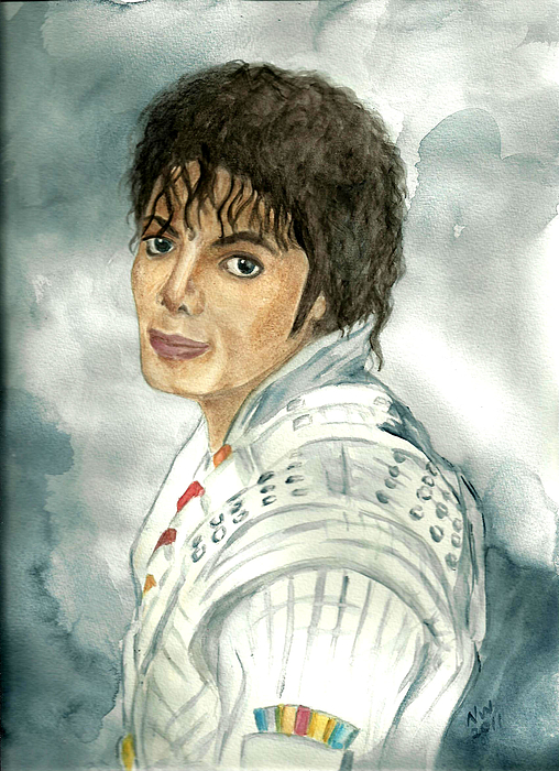 Michael Jackson - Captain Eo Print by Nicole Wang