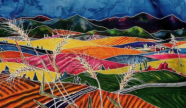 Palouse Fields Print by Carolyn Doe