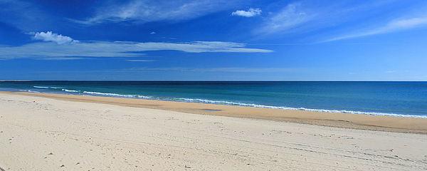 Praia Do Cabeco - Panoramic Print by Carl Whitfield