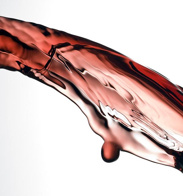 Red Wine Print by Frank Tschakert