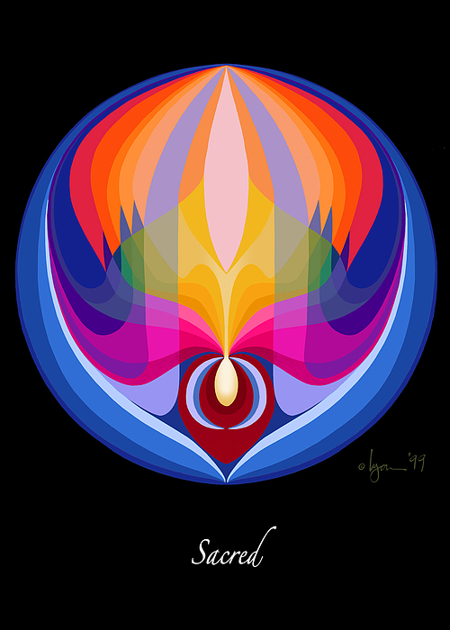 Sacred Print by Angela Treat Lyon