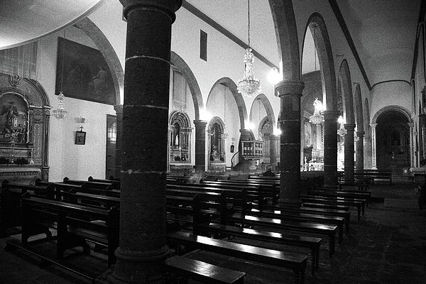 Sao Miguel Arcanjo Church Print by Gaspar Avila