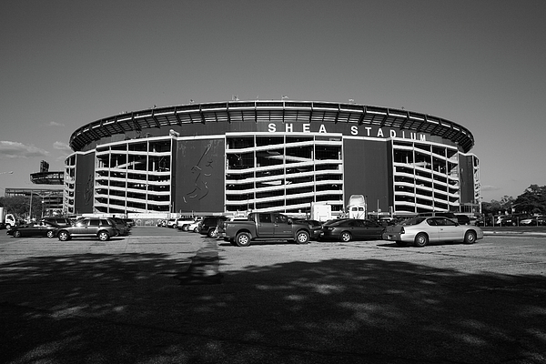 Shea Stadium - New York Mets Print by Frank Romeo