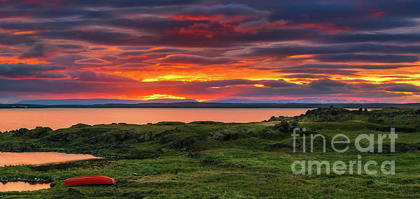Henk Meijer Photography - Sunset Lake Myvatn