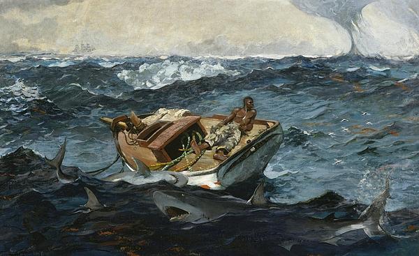 The Gulf Stream Print by Winslow Homer