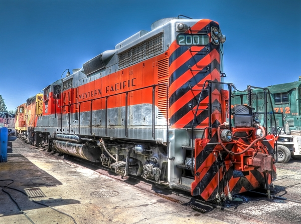 Western Pacific 2001 1959 Emd Gp20 By Backcountry Explorers