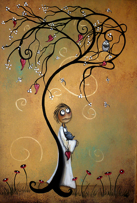 Whichever Way The Wind Blows Print by Charlene Zatloukal