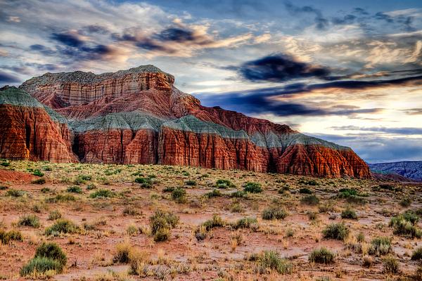Wild Horse Mesa Print by Utah Images