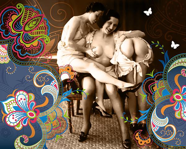 Goddesses Print by Chris Andruskiewicz