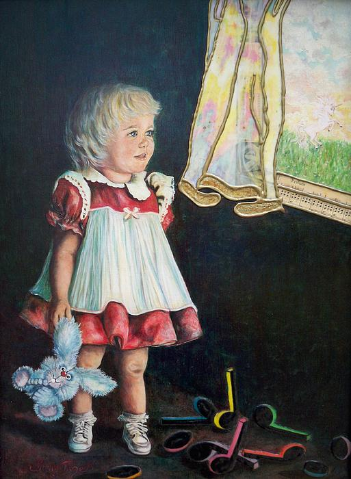 101 Imagination Girl Print by Sigrid Tune