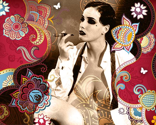 Goddess Print by Chris Andruskiewicz